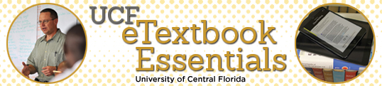 eTextbook Essentials Banner